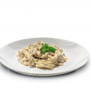 Proteine Pasta in Carbonara saus