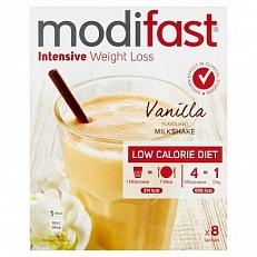 Modifast Intensive Milkshake Vanille 8x55gr