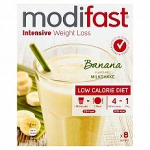 Modifast Intensive Milkshake Banaan 8x55gr