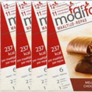Modifast Control Reep Chocola Voordeelverpakking 6x6stuks