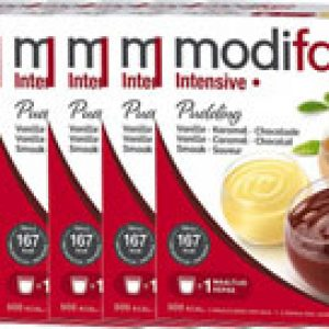 Modifast Intensive Pudding Vanille Chocola Caramel Voordeelverpakking 6x3 stuk