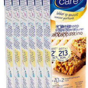 Weight Care Ontbijtreep Cappuccino *bestekoop Voordeelverpakking 6x2stuks