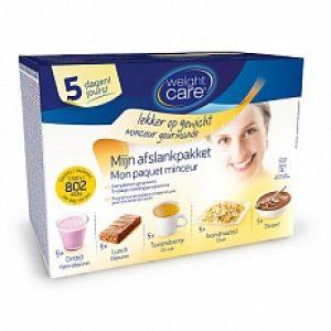Weight Care Mijn Afslankpakket 5-daagse minikuur 802kcal *Bestekoop Set