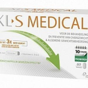 XLS Medical Vetbinder 10 Dagen Kuur Afslankpillen 60tabl