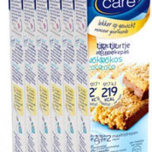Weight Care 12-uurtjes Maaltijdreep Kokos Voordeelverpakking 6x2stuks