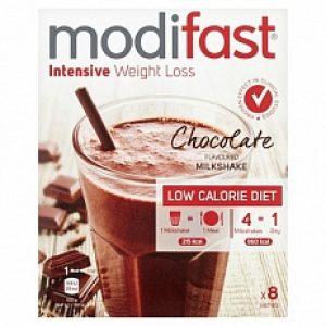 Modifast Intensive Milkshake Chocolade 8x55gr