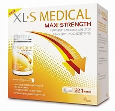 XLS Medical Max Strength 1 Maand Afslankpillen *Bestekoop 120tabl