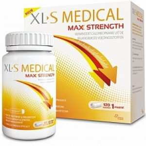 XLS Medical Max Strength 1 Maand Afslankpillen 120tabl