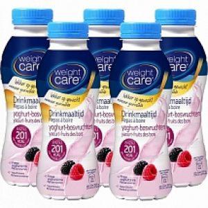 Weight Care Drinkmaaltijden Yoghurt Bosvruchten 5-pack Voordeelverpakking 5x300ml