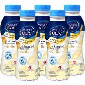 Weight Care Drinkmaaltijden Vanille 5-pack Voordeelverpakking 5x300ml