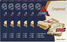 Atkins Crispbread Knackebrood *bestekoop Voordeelverpakking 6x100gr