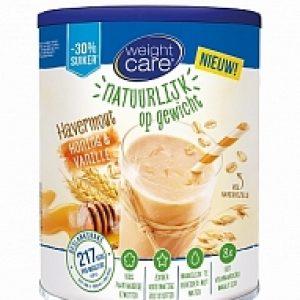 Weight Care Havermout Afslankshake Honing Vanille 420gram