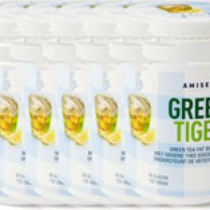 Amiset Green Tiger Green Tea Fat Burner Voordeelverpakking 6x132gr