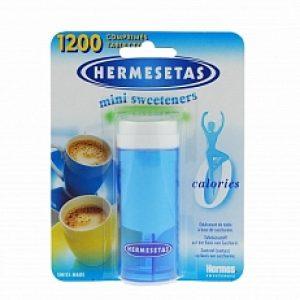 Hermesetas Tabletten Original Drukknop Doos *Bestekoop 1200tabl