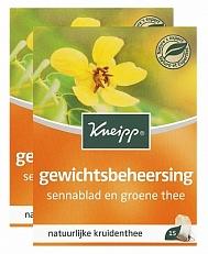 Kneipp Thee Gewichtsbeheersing Voordeelverpakking 2x15stuk