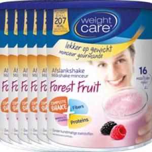 Weight Care Afslankshake Bosvruchten Voordeelverpakking 6x436gra