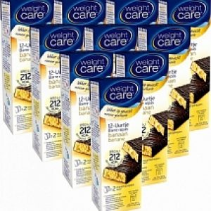 Weight Care 12-uurtjes Maaltijdreep Banaan 10-pack Voordeelverpakking 10x2st