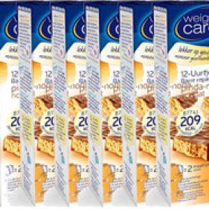Weight Care 12-uurtjes Maaltijdreep Pinda Noga Voordeelverpakking 6x2stuks