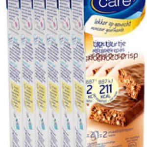 Weight Care 12-uurtjes Maaltijdreep Choco Crisp Voordeelverpakking 6x2stuks