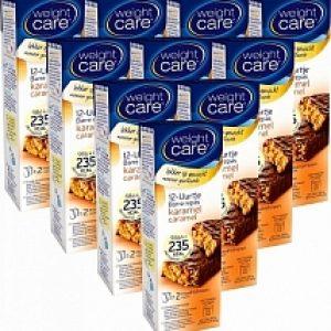 Weight Care 12-uurtjes Maaltijdreep Karamel 10-pack Voordeelverpakking 10x2st