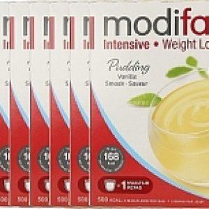 Modifast Intensive Pudding Vanille Voordeelverpakking 8x423gr