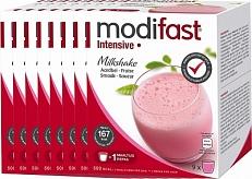 Modifast Intensive Milkshake Aardbei Voordeelverpakking 8x423gra