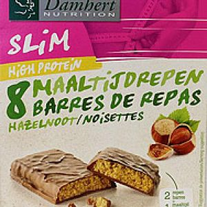 Damhert Afslank Proteinereep Chocolade Noot 240 Gram