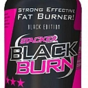 Stacker 2 Ephedra Vrij Black Burn Fatburner Afslankpillen 120caps