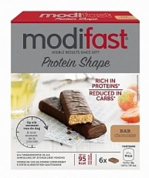 Modifast Protein Shape Reep Chocolade 6stuks
