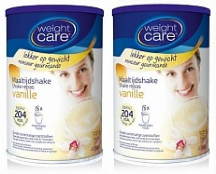 Weight Care Afslankshake Vanille Duo 2x436gr