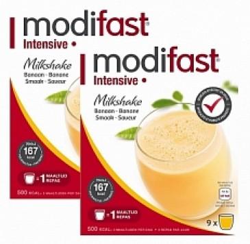 Modifast Intensive Milkshake Banaan 2x423gr