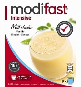 Modifast Intensive Milkshake Vanille 423gram
