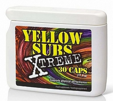 Yellow Sub Xtreme Afslankpillen 30caps