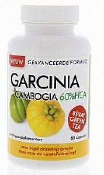 Garcinia Cambogia 60% Hca Afslankpillen 60 cap