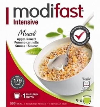 Modifast Intensive Muesli Appel / Kaneel 9x50gram