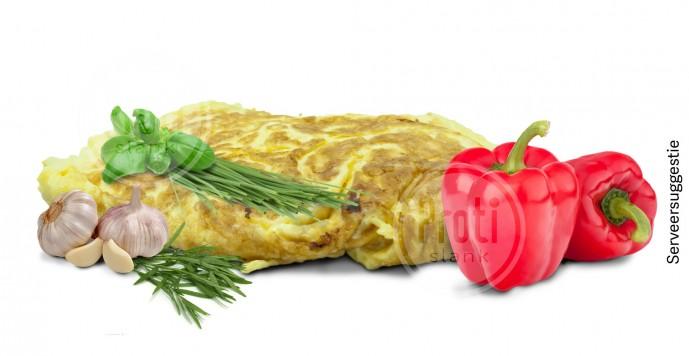 Proteine omelet Mediterraans