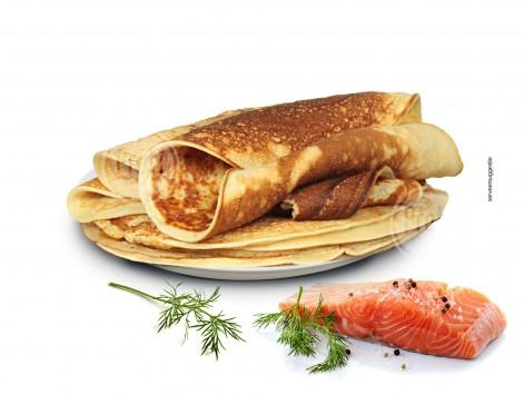 Proteine pannenkoek Zalmsmaak