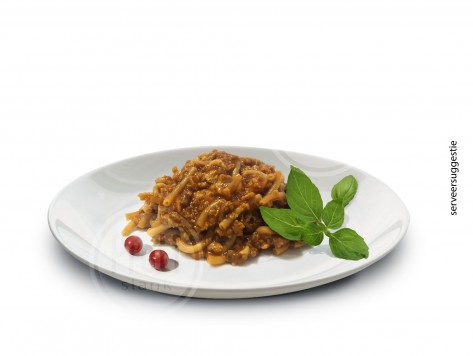 Proteine Pasta in Bolognese saus