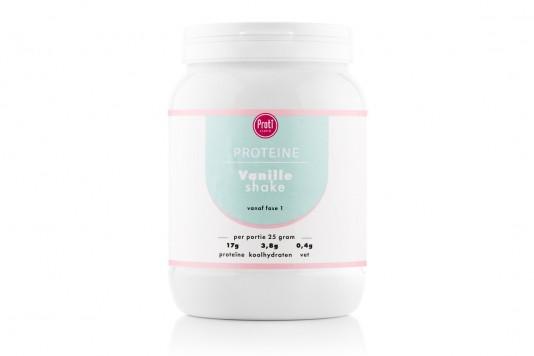 Voordeelpot protishake vanillesmaak (pot 17 porties)