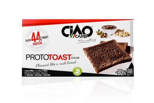 ProtoToast Cacao (doos 4 zakjes à 5 toast)